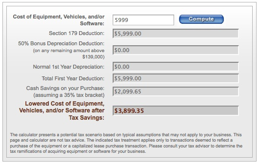 Paint Booth Tax Calculator